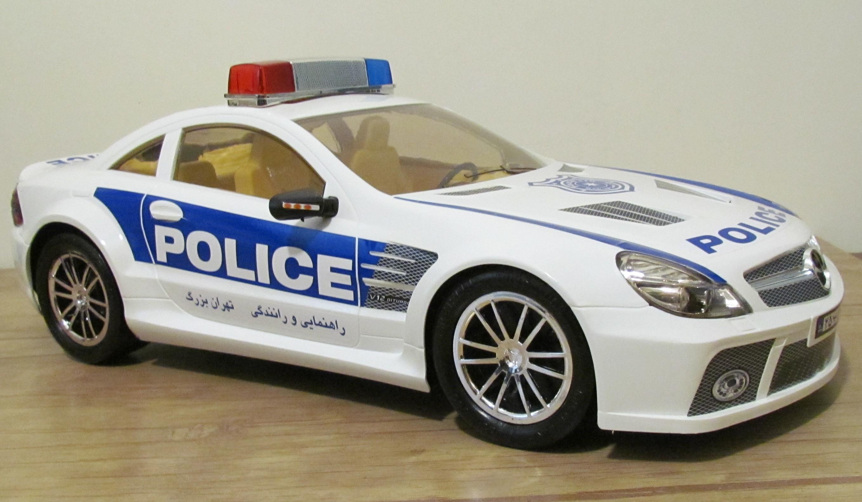ماشین بنز پلیس بزرگ راهنمایی رانندگی