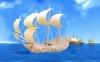 کشتی بادبانی جنگی ( 5 لایه )